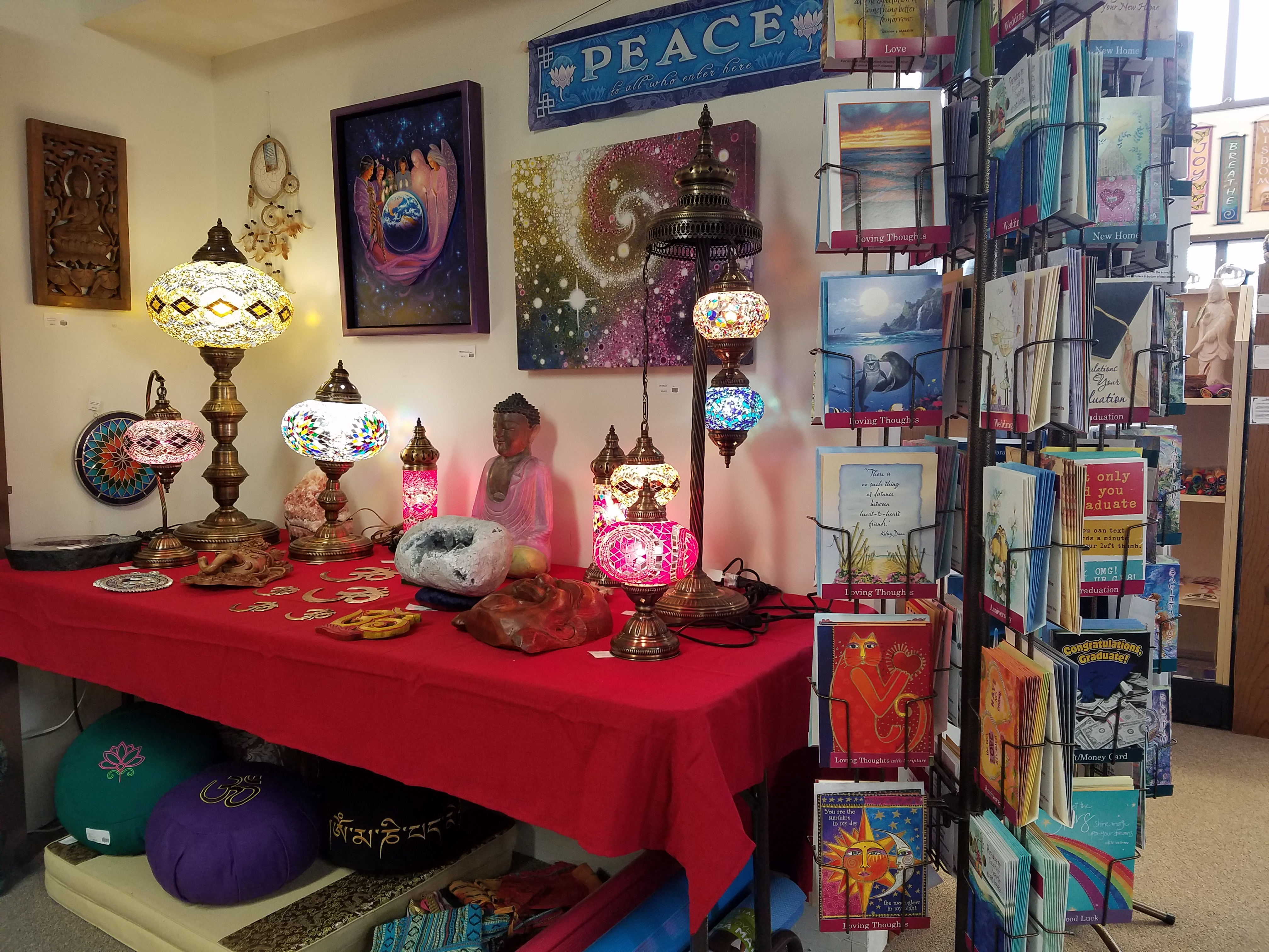 aquarius books and gifts grants pass oregon decorative lighting