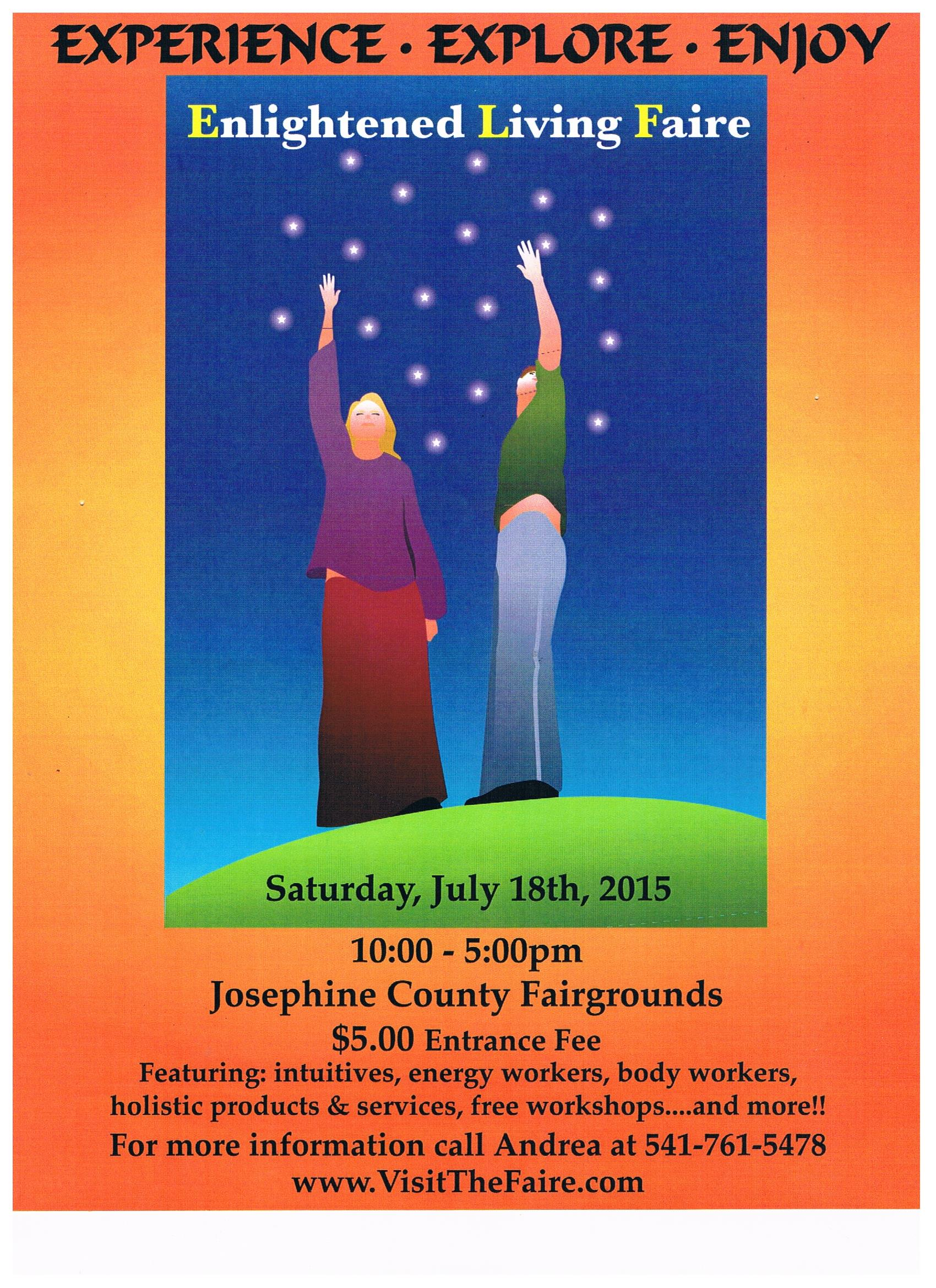 elf july 2015 grants pass oregon aquarius books and gifts attendee